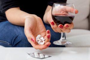 совместный прием алкоголя и лекарства