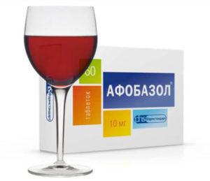 Афобазол и алкогольные напитки