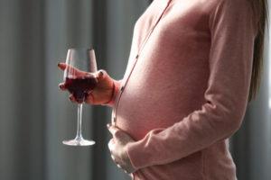 Влияние алкоголя набудущую маму