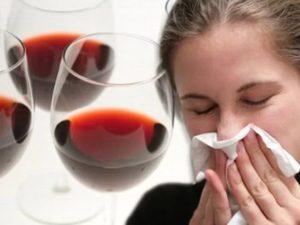 аллергия на алкоголь