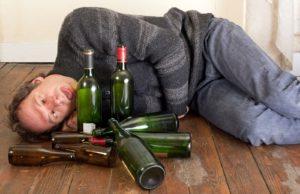 мужчина алкоголик