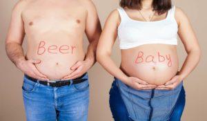 Пиво беременным пить вредно
