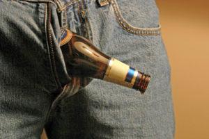 Опасность распития спиртного при простатите