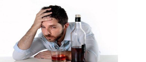 лицо алкоголика
