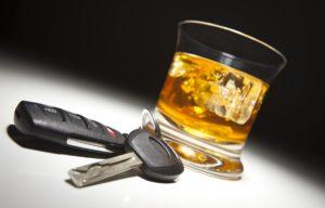 Пить за рулем нельзя