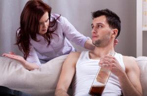 Муж и жена спохмелья