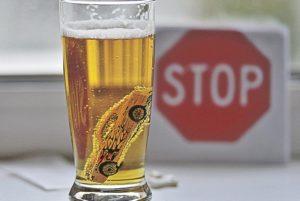 После пива за руль нельзя