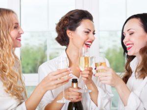 Игристое вино обладает приятным вкусом