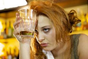 Тошнота после распития алкоголя