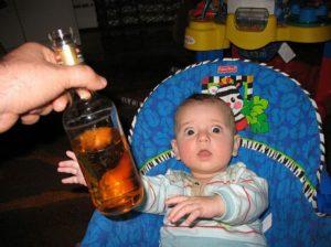 Ребенок и пиво