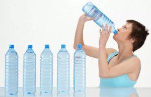 нужно употребить много воды при поносе