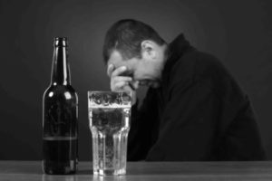Депрессия после алкогольных напитков
