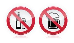 отказ от алкоголя во время лечения