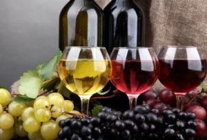 Классификация вин поцвету