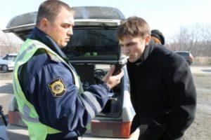 Медицинское освидетельствование водителя на состояние алкогольного опьянения