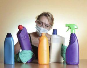 аллергические реакции на бытовую химию