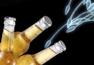 Как алкоголь влияет на качество спермы